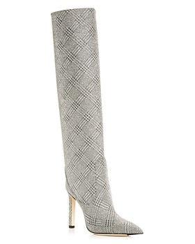 Jimmy Choo - Women's Mavis 100 Pointed-Toe High-Heel Boots