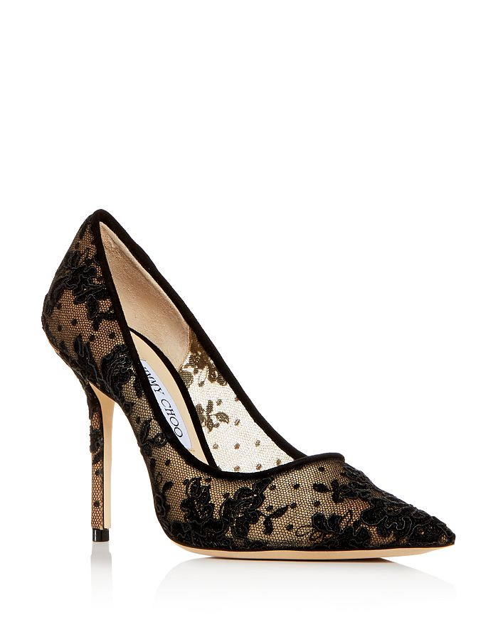 Jimmy Choo - Women's Love 100 Pointed-Toe Pumps