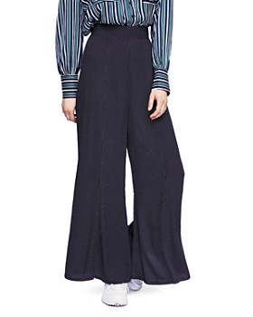 Free People - Wild And Free Polka Dot Wide-Leg Pants