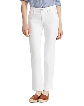 Ralph Lauren - Modern Straight Curvy Jeans in White