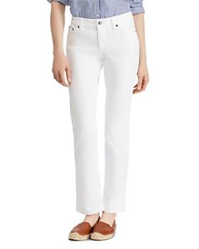 Ralph Lauren - Modern Straight Curvy Jeans in White