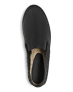 Bottega Veneta - Men's Woven Leather Espadrilles