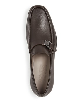 Salvatore Ferragamo - Men's Adam Leather Moc-Toe Loafers