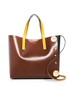Marni - Punch Museo Medium Leather Tote
