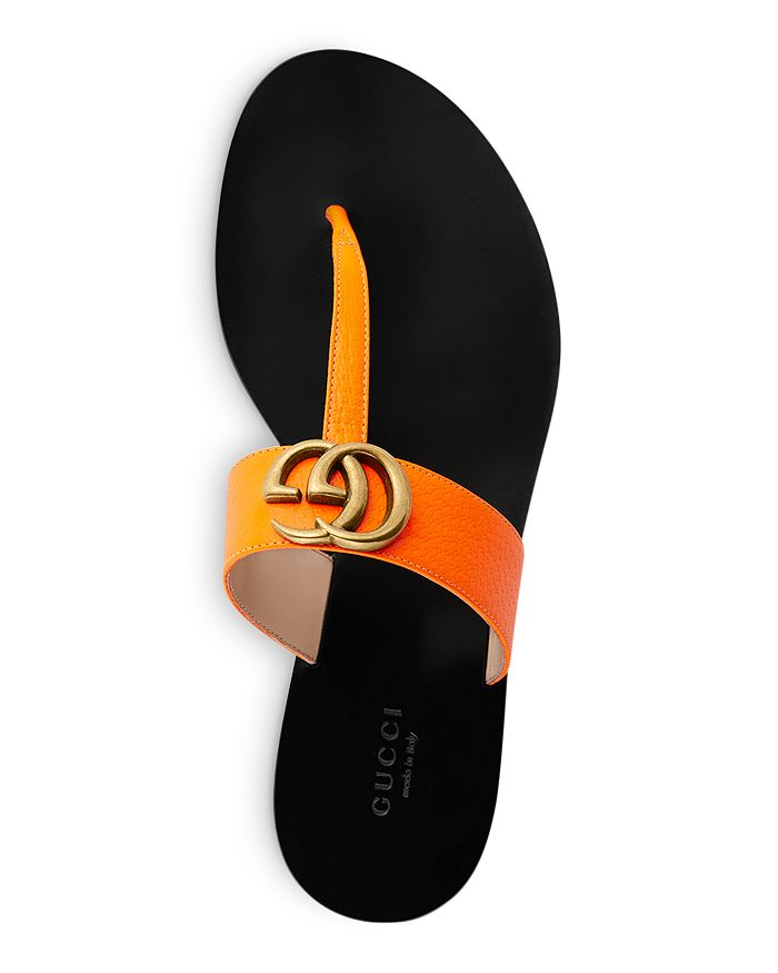 d9fbff323dc8 Gucci - Women s Marmont Leather Thong Sandals