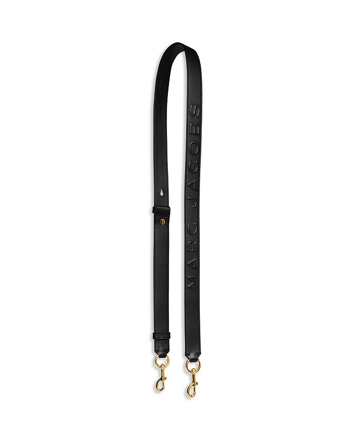 MARC JACOBS - MJ Debossed Leather Strap