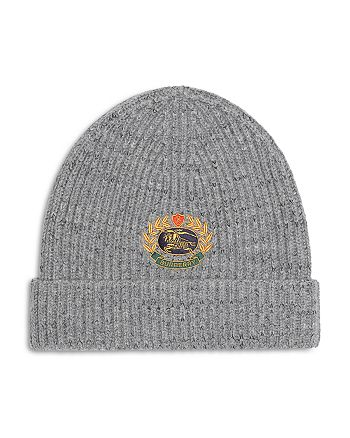 Burberry - Embroidered Crest Beanie