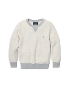 Ralph Lauren - Boys' Cotton Mesh Sweater - Little Kid