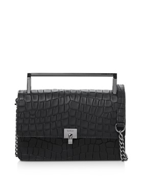 Botkier - Lennox Small Croc-Embossed Leather Crossbody