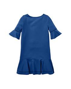 Ralph Lauren - Girls' Ponte Bell-Sleeve Drop-Waist Dress - Big Kid
