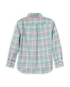 Ralph Lauren - Boys' Plaid Cotton Poplin Shirt - Little Kid