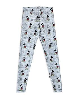 Terez - Girls' Disney x Terez Heathered Mickey Mouse Leggings - Big Kid