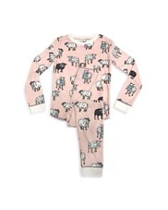PJ Salvage - Girls' Sheep-Print Pajama Shirt & Pants Set - Little Kid
