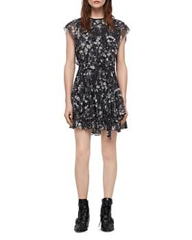 ALLSAINTS - Evely Lisk Floral Print Dress