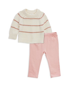 Sovereign Code - Girls' Striped Knit Sweater & Leggings Set - Baby