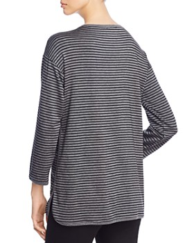 Eileen Fisher Petites - Striped Tee