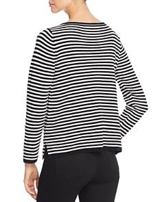 Eileen Fisher Petites - Striped Organic Cotton Sweater
