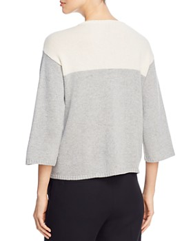 Eileen Fisher - Color Block Boxy Sweater