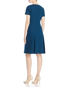 Lafayette 148 New York - Jannie Pleated Wool Dress