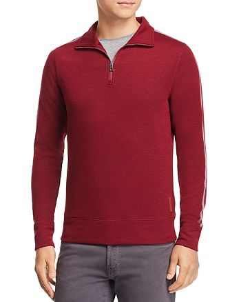 Michael Kors - Double-Knit Quarter-Zip Sweater - 100% Exclusive