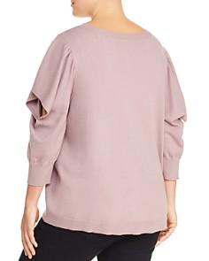 Love Scarlett Plus - Cutout-Sleeve Sweater - 100% Exclusive