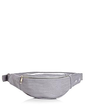 Aqua Croc-Embossed Belt Bag - 100% Exclusive In Lilac Croc Silver ... f434a36fa6