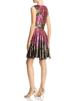 Aidan Mattox - Sequined Cocktail Dress