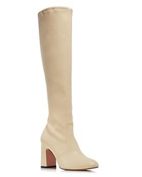 Stuart Weitzman - Women's Milla Tall Stretch Leather Boots