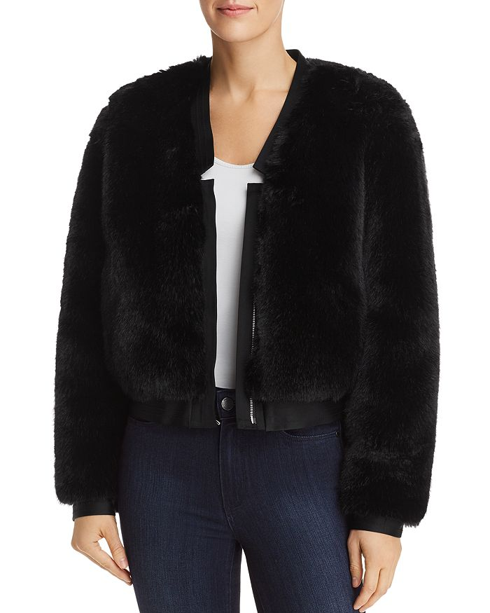 J Brand - Ashbey Faux-Fur Jacket
