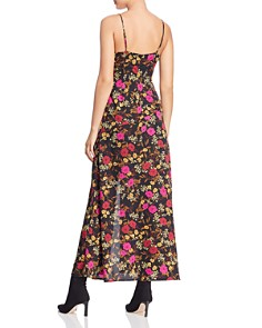 ASTR the Label - Valentina Floral Print Faux-Wrap Maxi Dress
