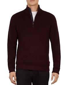 Ted Baker - Lohas Funnel-Neck Half-Zip Sweater