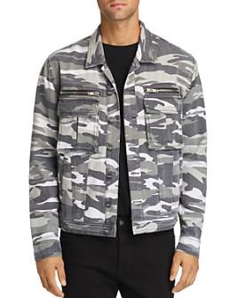 nANA jUDY - Sawyer Camouflage-Print Denim Jacket