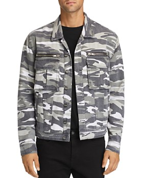 nANA jUDY - Sawyer Camouflage-Print Denim Jacket