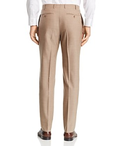 Canali - Siena Tropical-Weave Solid Classic Fit Dress Pants