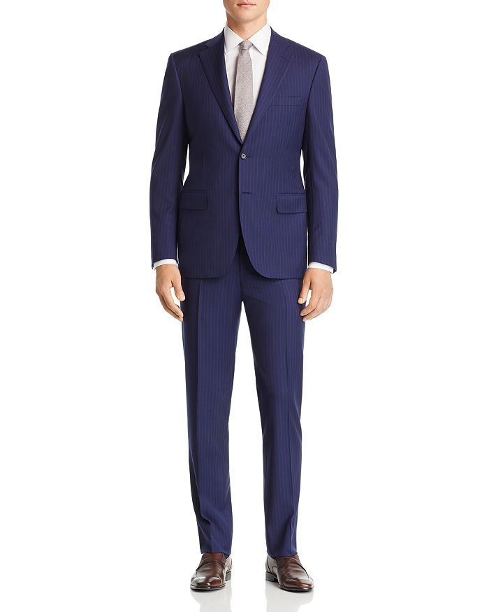 Canali - Siena Striped Classic Fit Suit