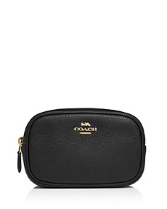 COACH - Pebbled Leather Belt Bag