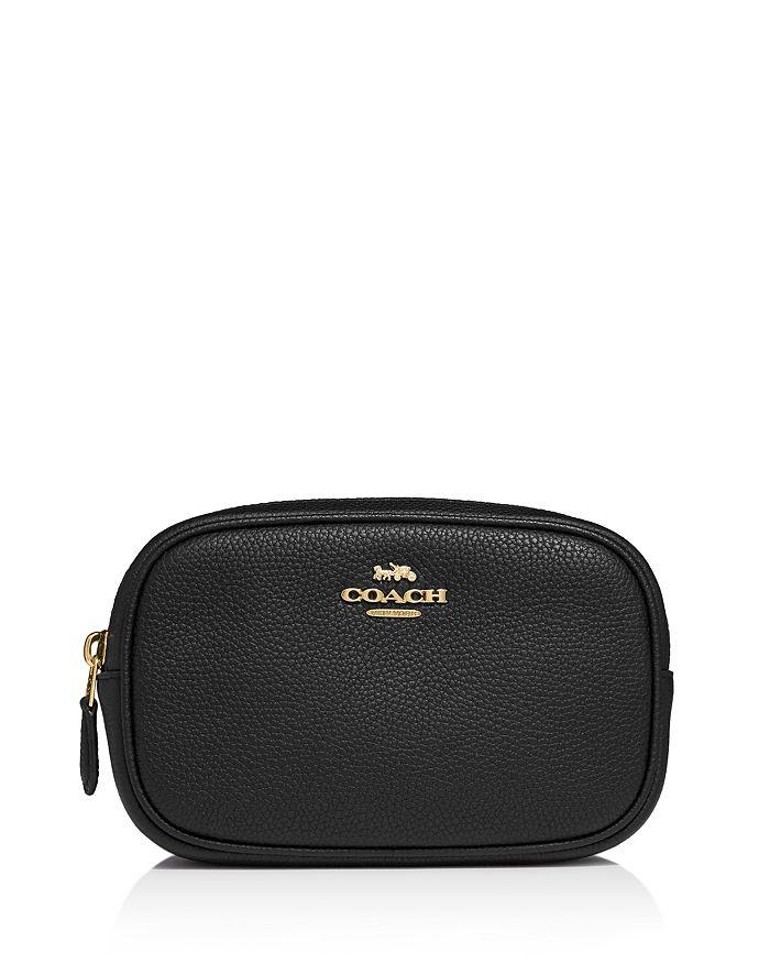 COACH - Pebbled Leather Belt Bag