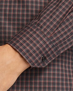 HUGO - Elisha Grid Extra Slim Fit Button-Down Shirt