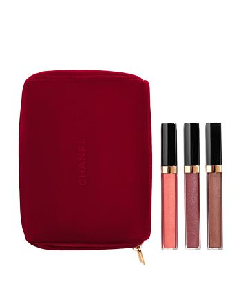 CHANEL - GLOSS IN 3 ROUGE COCO GLOSS Moisturizing Glossimer Trio