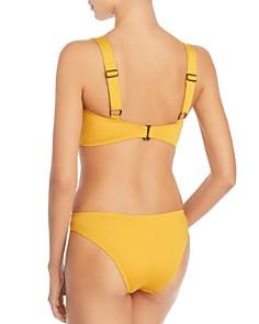 Mei L'ange - Lynn Utility Bikini Top & Audrey Low-Rise Triangle Bikini Bottom