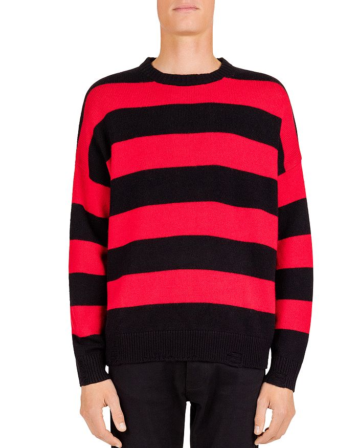The Kooples - Striped Crewneck Sweater