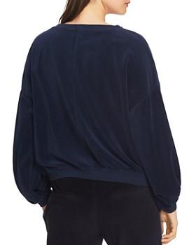 1.STATE - Velour Sweatshirt
