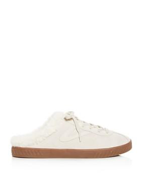 Tretorn - Women's Cam Faux-Fur Sneaker Mules