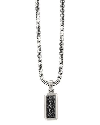 David Yurman - Streamline® Amulet with Black Diamonds