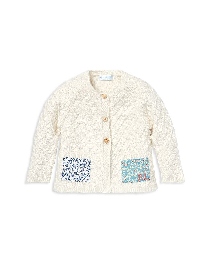 Ralph Lauren - Girls' Patchwork Cotton Cardigan - Baby