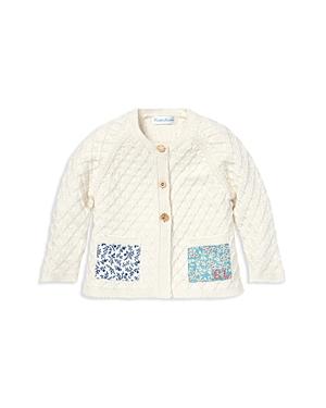 Ralph Lauren Girls Patchwork Cotton Cardigan  Baby