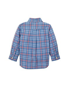Ralph Lauren - Boys' Plaid Cotton Poplin Shirt - Baby