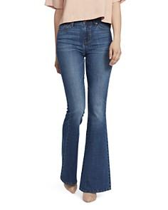 Ella Moss - High-Rise Flared Jeans in Naomi