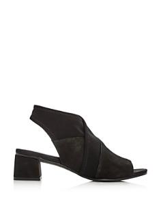 Eileen Fisher - Women's Luca Slingback Block-Heel Sandals