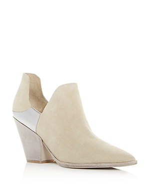Sigerson Morrison WOMEN'S CATHY POINTED-TOE BOOTIES